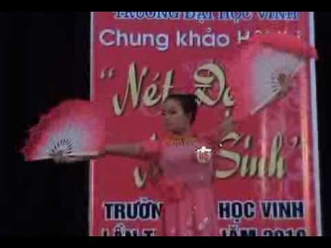 Video Hội thi nét đẹp nữ sinh Đại học Vinh năm 2010 phần 2.4