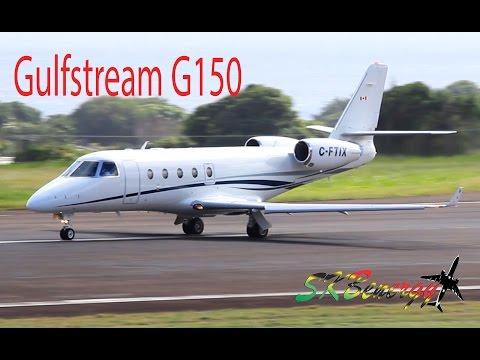Gulfstream G150 (C-FTIX) departing St. Kitts Robert L. Bradshaw Int'l Airport