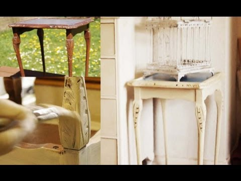 innovative shabby chic furniture | How to 'Shabby Chic' Furniture - YouTube