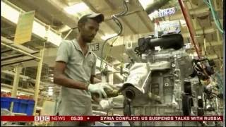 India is the world's fastest growing economy with a booming car industry in Chennai