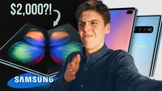APPLE FANBOY REACTS TO SAMSUNG'S UNPACKED EVENT