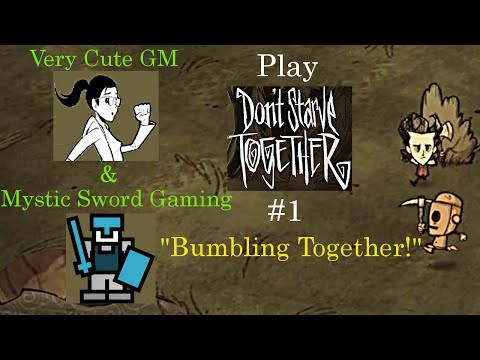 """Don't Starve Together. #1: """"Bumbling Together!"""" [w/ Very Cute GM] [HD]"""
