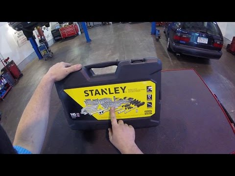 Stanley 145pc Tool Set review!