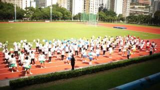 潔心林炳炎中學 11-12 陸運會 社舞