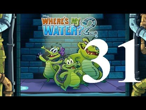 Where's My Water 2 Level 31: Corrode To Nowhere 3 Ducks iOS Walkthrough