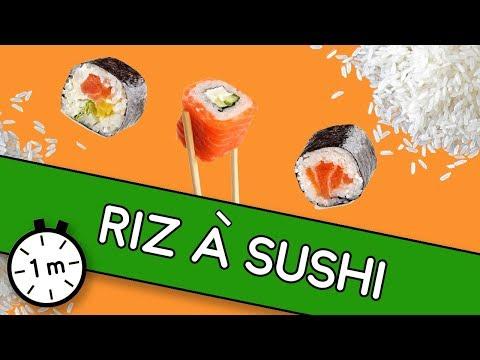 Riz à sushi - Astuce YouCook