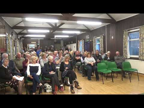 CARTERTON PUBLIC MEETING - BOLLARDS , SWINBROOK ROAD VID 1