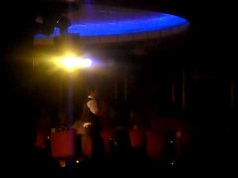 Thomson Destiny Feb 2010 - Danny on karaoke!