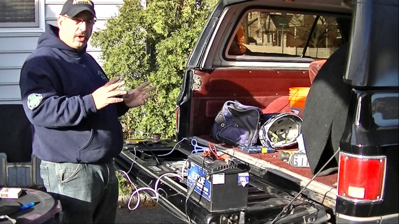 K5    Blazer    Tailgate Window Troubleshooting and Repair Part