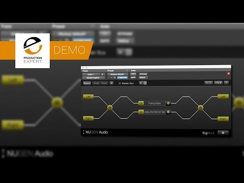Demo Of Nugen Audio SigMod Now With Support For VST3 Plug ins