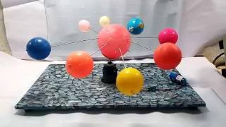 Solar System working model - Anantakart