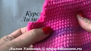 Кофта детская - crochet sweater - 3 часть - вязание крючком