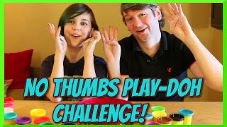 Challenge! - Funny Easter No Thumbs Play-Doh with Chad Alan