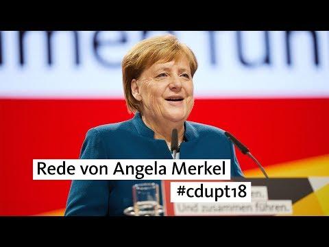 #cdupt18: Rede von Angela Merkel