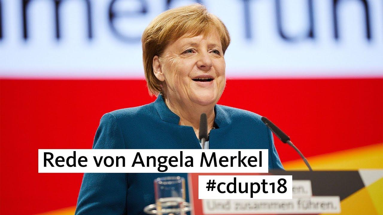Rede Von Angela Merkel Heute