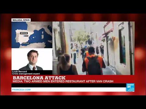 Barcelona attack: Gunman holed up in or around a Turkish restaurant