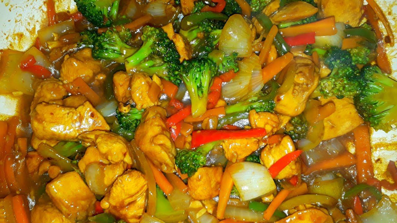 dieta del pollo e verdure