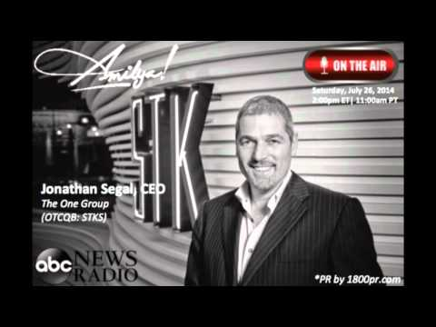 Jonathan Segal CEO of The One Group Interviewed on ABC News Radio The Amilya Show