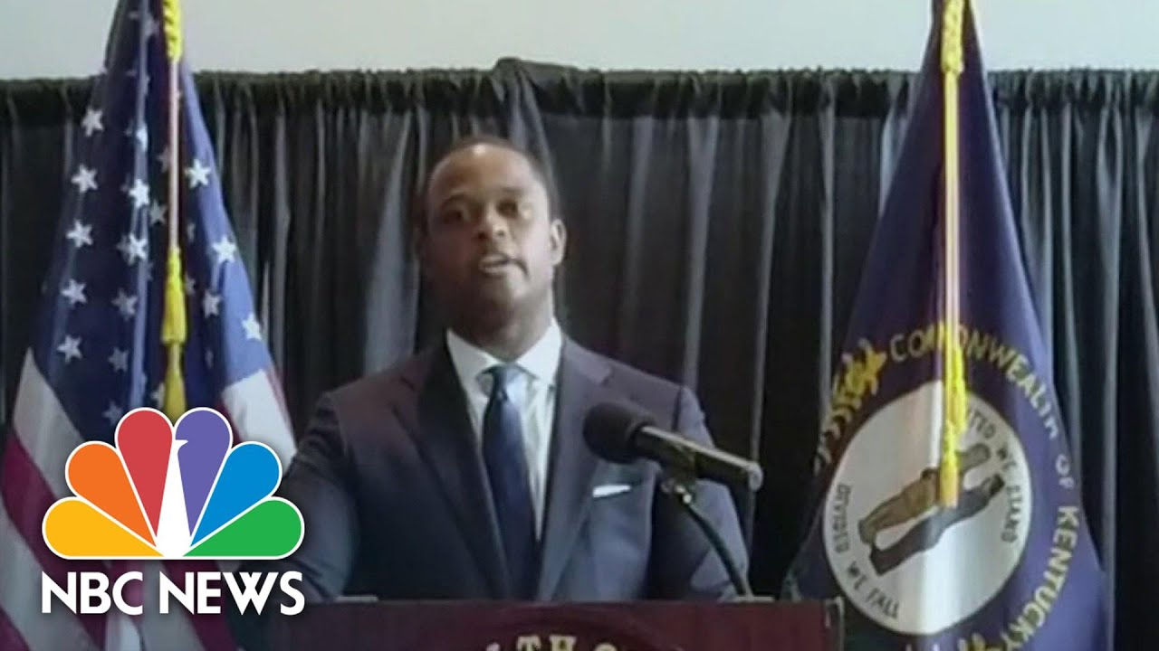 KY AG: Celebrities, Influencers Do Not 'Understand The Facts' Of Breonna Taylor Case | NBC News