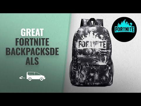 Top 10 Fortnite Backpacks [UK 2018]: Luminous Backpack Unisex Sports Travel Schoolbag Glow In Dark