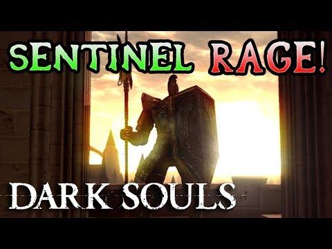 ANOR LONDO SENTINEL ARMY CHAOS! Dark Souls Hard Mod Rage! (#17)