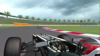 [rFactor] Lotus-Renault E21 @ Sepang Circuit with Kimi Raikkonen (mod VFR 2013) [HD]
