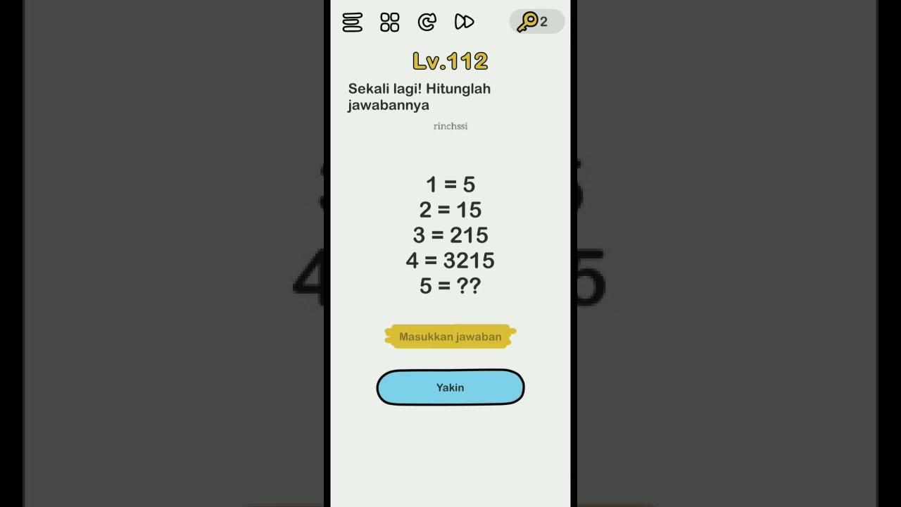 Brain Out Jawaban Level 111 112 113 114 115 116 117 118 119 120 Bahasa Indonesia Youtube