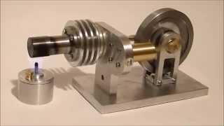 Stirlingmotor Gamma Typ Eigenbau