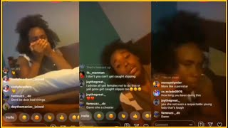 Mom exposes daughter on Instagram live (EMBARASSING)