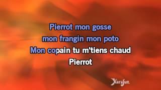 Karaoké Chanson pour Pierrot - Renaud *