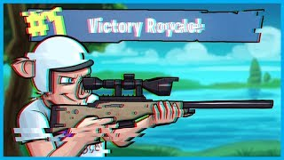 The GLITCHIEST VICTORY ROYALE EVER in Fortnite: Battle Royale! (Fortnite Funny Moments)