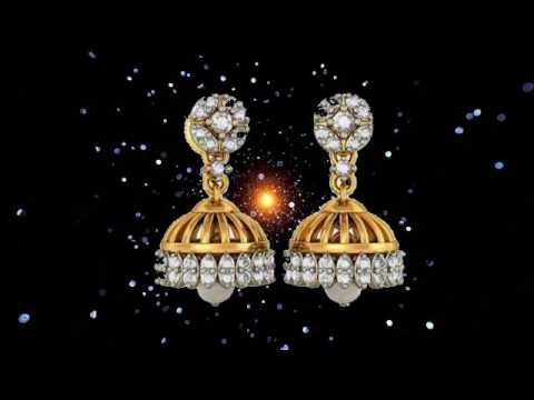 Gold Earrings Collection Diamond Earring Design Earring Designs clip7