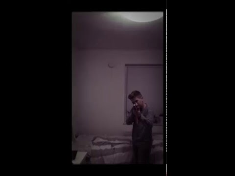 Kid shoots 500$ camera with Nerf gun so it breaks