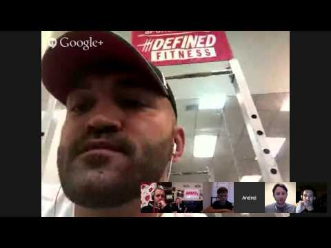 March 2015 Live Video Chat with Andrei and Greg Jackson