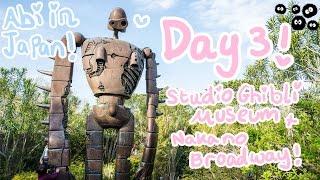Abipop in Japan ♬*゜| Day 3 - Studio Ghibli Museum & Nakano Broadway | Abipop