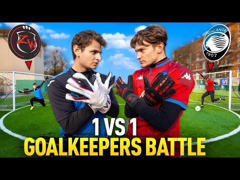 1 VS 1 GOALKEEPERS BATTLE! ZW vs SERGEJ! (epic GK battle!) - ZW JACKSON