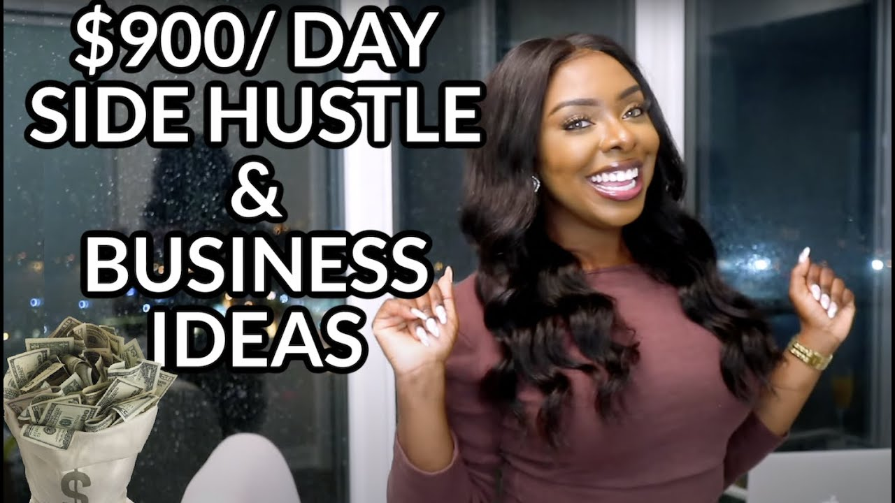 Download 5 ONLINE Side Hustle & Business Ideas You Can START TODAY