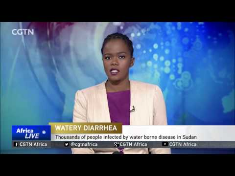 Thousands of people infected by water borne disease in Sudan