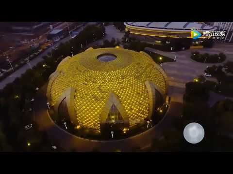 Drone views  over Optics  Valley,Wuhan空拍武汉光谷