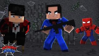 Minecraft: MENINO ARANHA - RESGATEI MEU AMIGO DE UM VILÃO! #13