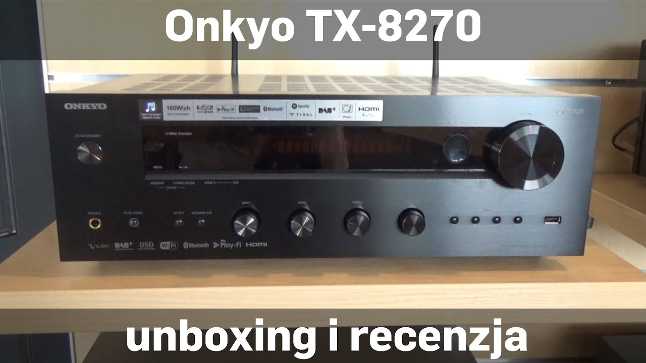 onkyo ns 6130. onkyo tx-8270 amplituner stereo unboxing i recenzja sklep.rms.pl [eng] ns 6130