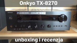 Onkyo TX-8270 Amplituner stereo unboxing i recenzja sklep.RMS.pl [english subtitles]