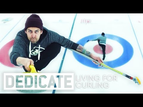 Meet the guy that lives for curling:  Chris Plys.