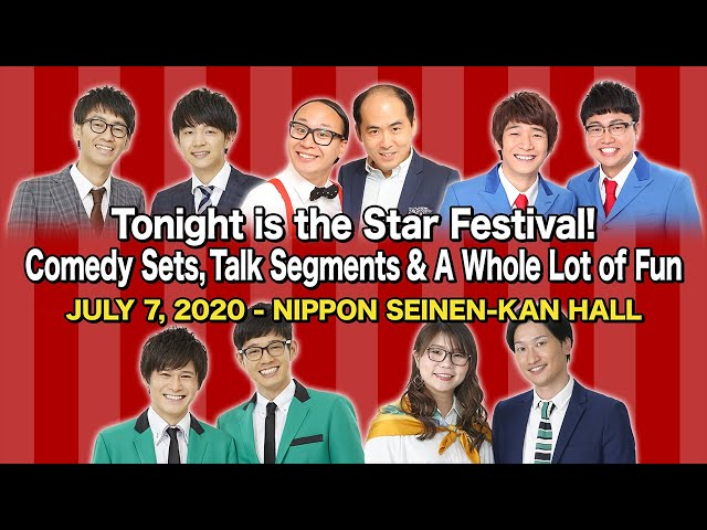 Laugh Throughout the Star Festival: Comedy Sets, Talk Segments and A Whole Lot of Fun