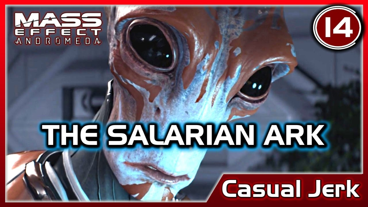 Mass Effect Andromeda Finding The Salarian Ark Pathfinder Casual Jerk 14 No Commentary