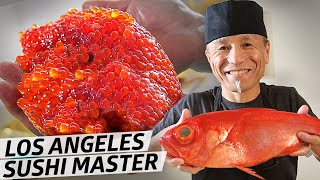 The Sushi Master Introducing Japanese Fish to LA Natives for Over 30 Years — Omakase