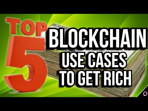 TOP 5 blockchain projects to make you RICH