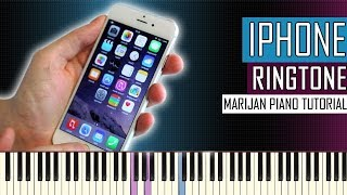 Piano tutorial: learn how to play iphone ringtone on piano. • sheet music: http://bit.ly/marijanpianosheets | more tutorials for easy and popular songs...