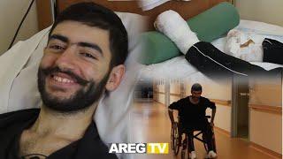 70 օր անհետ կորած Արմանը կորցրել է ոտնաթաթերը, բայց դուխաթափ չի եղել. քայլել է սովորելու,ոգին պինդ է