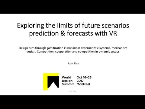 """World Design Summit Montreal 2017 – 2nd project presentation on """"Exploring Virtual Reality"""""""